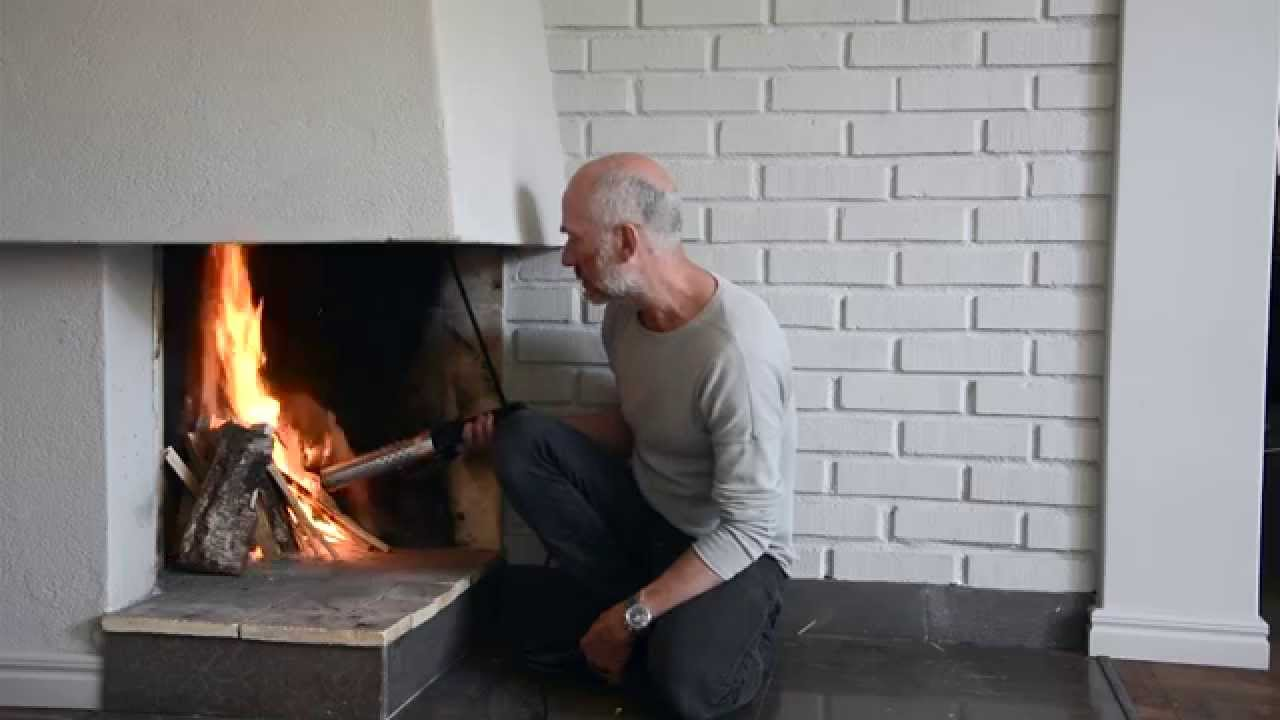 how to light your fireplace with the looftlighter youtube