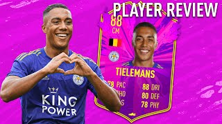 Future stars 88 youri tielemans player review! - fifa 20 ultimate team