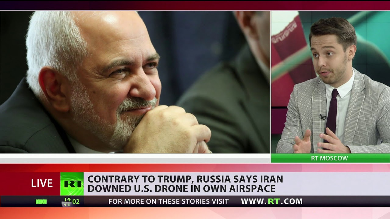 Iran Why Not Just Go On And Break All >> Russia Has Evidence That Us Drone Downed By Iran In The Persian Gulf