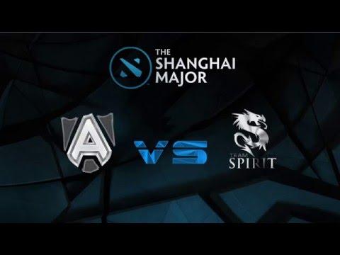 The Shanghai Major, Alliance vs Team Spirit Highlights