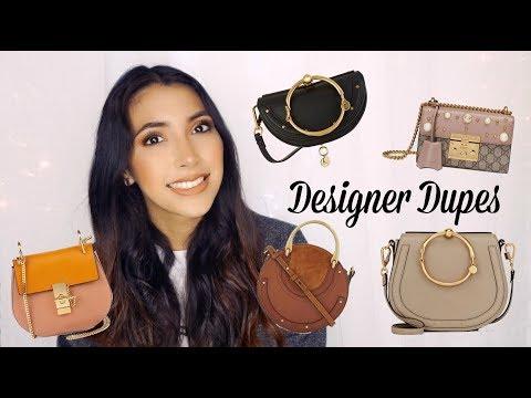 DESIGNER DUPES  | Chloe + Gucci
