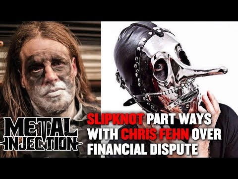 Cindy Scull Mornings - SLIPKNOT'S Chris Fehn OUT of the Band over Lawsuit