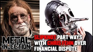 SLIPKNOT Kick Out Chris Fehn Over Financial Dispute | Metal Injection
