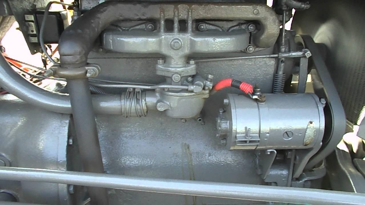 8n Ford Tractor Wiring Harry Ferguson Te 20 Series Youtube