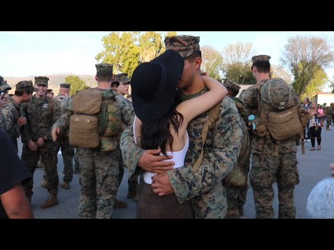 My BF Comes Home From Deployment!
