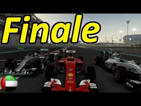 F1 2015 Career Mode Part 18: Abu Dhabi - THE FINALE