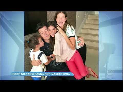 Hora da Venenosa: Rodrigo Faro confirma que fez cirurgia de vasectomia