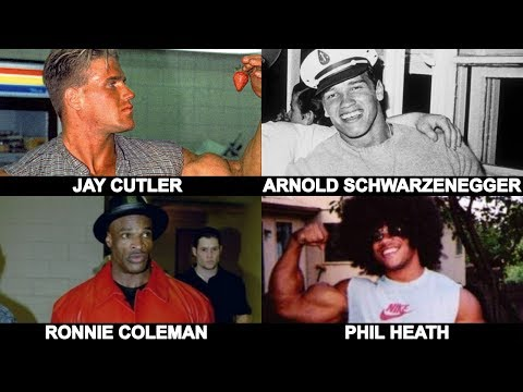 5 Bodybuilding Legends Before They Became Famous
