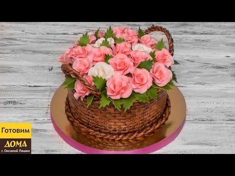 Торт из мастики для девушки