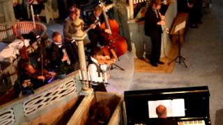 Klezmer   Alexander Rybak, Kvarts og Magnus Bakken, saxofon  Sør Fron kirke 08 08 2012