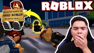 REACTING TO THE POOR WITHIN RICHES!!! (Roblox Reaction)