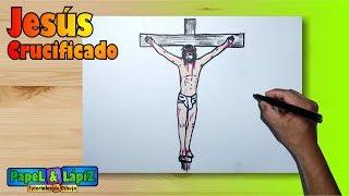 Cómo dibujar a Jesús en la Crucificción - Paso a paso