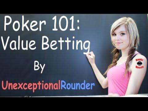 Value Betting Lesson - Texas Holdem Poker Strategy - Online Hold em Poker Coaching