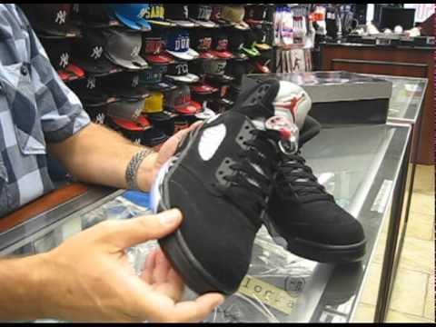 wholesale dealer 94539 c63fb Nike Air Jordan Retro 5 Black, Metallic Silver, Varsity Red - at Street  Gear, Hempstead NY