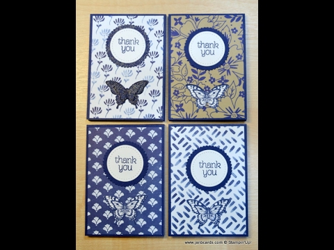No.249 - Covered A7 Note Pad - JanB UK Stampin' Up! Demonstrator Independent