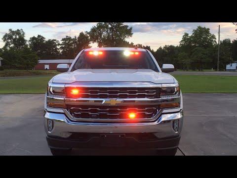 2016 Chevrolet Silverado Pov With Whelen And Feniex Led