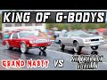 GRAND NASTY VS GONE HOLLYWOOD SILVERBACK GORILLA - Who has the FASTEST Gbody?