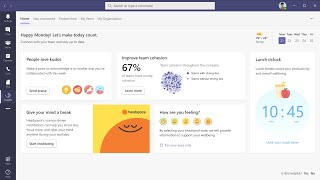Work is different now. to help people and organizations thrive, we're bringing wellbeing productivity insights – powered by myanalytics workplace ana...