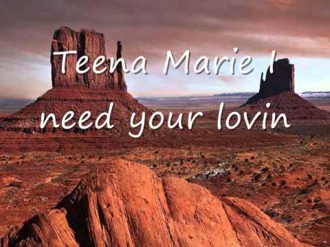 Teena Marie - I need your lovin