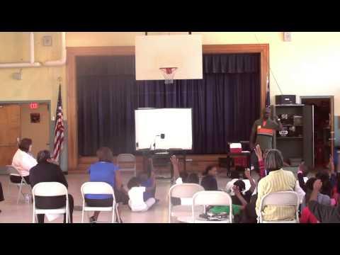 Addalesson Speaks to School Street Elementary School (Part 3)