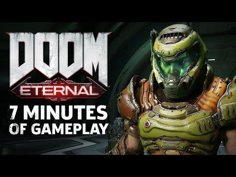 7 Minutes Of Brutal DOOM Eternal PC Gameplay