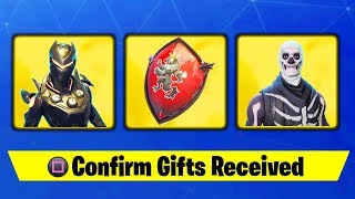HOW TO SEND GIFTS IN FORTNITE.. (NEW GIFTING SYSTEM)