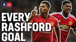 Marcus Rashford: Every FA Cup goal! | Manchester United | Emirates FA Cup