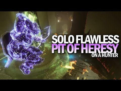 "Solo Flawless ""Pit Of Heresy"" Dungeon (Hunter) [Destiny 2 Shadowkeep]"