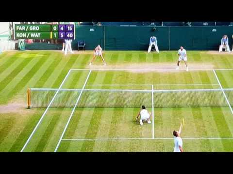 Heather Watson Guernsey wins Wimbledon doubles
