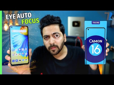 Tecno Camon 16 - Unboxing & Hands On| 64MP Cam | Helio G70 | 16MP Eye Autofocus | Under Rs.11,000