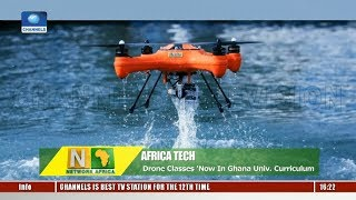Africa Tech: Impact Of Drone Technology On Education |Network Africa|