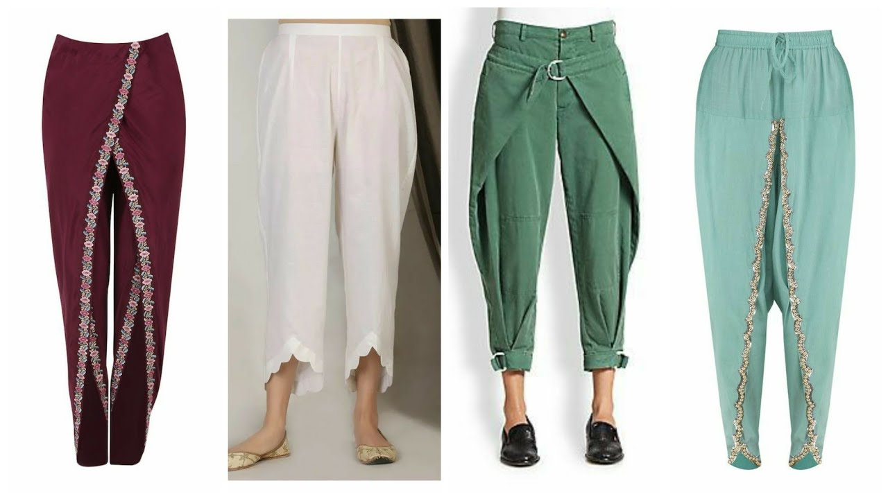 Latest Designer 48 Tulip pants and Tulip Shalwar Designs (2021)new and Different Style