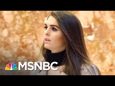 Lawrence: Hope Hicks' Loyalty Tested As She Meets Mueller team | The Last Word | MSNBC