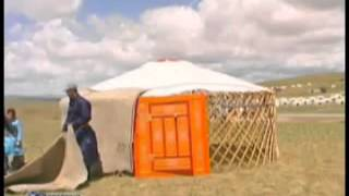 How To Pitch a Mongolian Yurt (Ger)