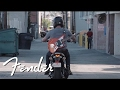 Go on a Ride with the Ducati Scrambler Sixty2 and Fender '62 Atomic Orange Jaguar | Fender