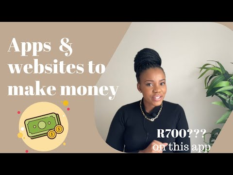 How to make money through apps   Making money online   South African Youtuber