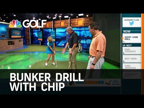 Bunker Drill with Chip | Golf Channel