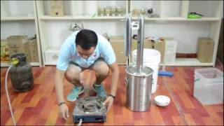 Dibosh Stainless Steel Water Alcohol Distiller Brewer thumbnail