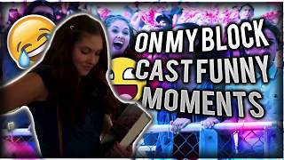 On My Block Cast Funny Moments and Behind The Scenes