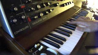 Jamiroquai Destitute Illusions on Minimoog