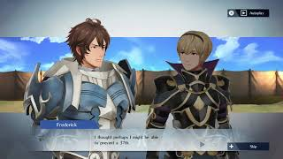 Fire Emblem Warriors - Frederick and Leo Support Conversation thumbnail