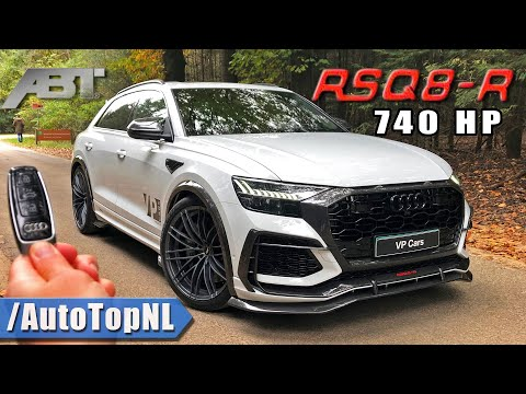 ABT AUDI RSQ8-R 740HP REVIEW by AutoTopNL