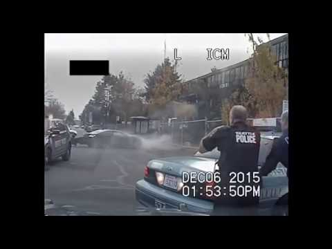 Seattle Police Dash Cam Footage Of Wild Car Chase That Ended In Fatal Shooting By 11 Cops!