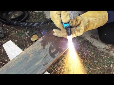 Testing a Lotos LT5000D 50A Plasma Cutter