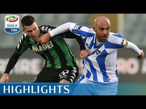 Pescara - Sassuolo - 1-3 - Highlights - Giornata 21 - Serie A TIM 2016/17