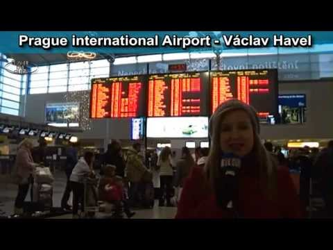 From the airport to the center of Prague, transport video guide part 6