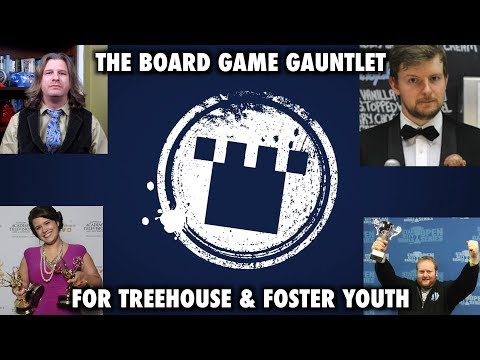 Running The Board Game Gauntlet for Treehouse and Foster Youth