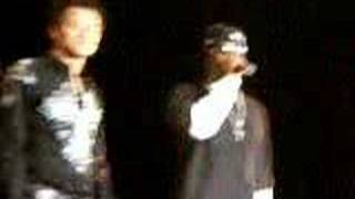 """P Diddy makes a surprise appearance at the 2/2/06 Rain Concert. """"I ..."""