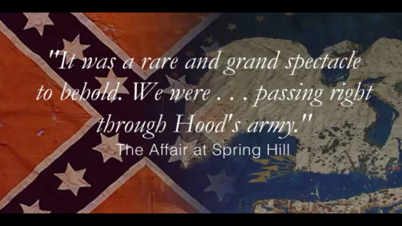 battle of Spring Hill, Tennessee, November 29, 1864