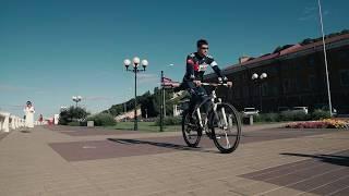 Прогулка по Нижнему на велосипеде / Речной паром